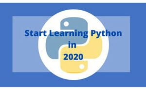 how to start learning python